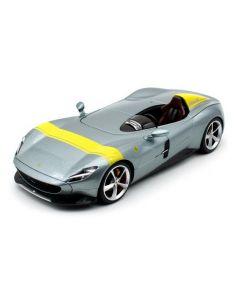Bburago 16013 Ferrari R&P Monza SP-1 'Icona' Special - Silver 1/18