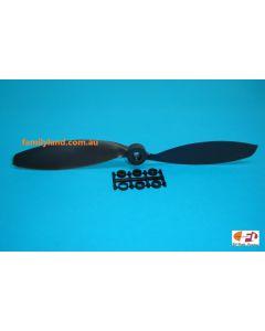 Blue Bird 0720 Propeller 10x8 w/Adaptor Slow Flyer Br/less EP