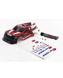 Carisma 15647 GT24R Off-Road Painted Body  (Red) 1/24