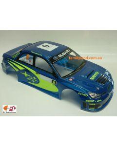 Colt M2321P Painted Body Subaru Impreza WRC 07 Blue 200mm 1/10 No Hole