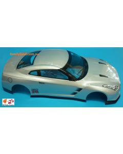 Colt M2330P Painted Body Nissan GTR35 Silver 200mm 1/10 No Hole