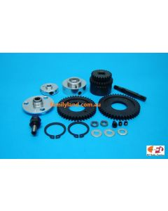 Colt S1024 2-Speed Kit to suit Shaft Drive On Road Car 1/10 (24t/ 28t, 46t/ 42t)