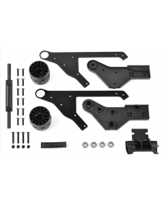 Team Corally C-00180-294  Wheelie Bar - Complete Set 1/8