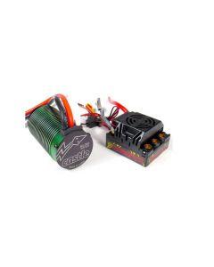 Castle Creations 010010804  Monster 2 Brushless ESC w/ 2650kV Motor, Waterproof Combo