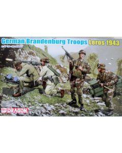 Dragon Models 6743 German Brandenburg Troops Leros 1943  1/35