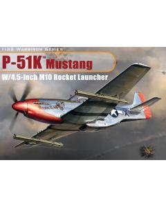 Dragon Models 3224 P-51K Mustang w/4.5 inch M10 Rocket Launcher 1/32