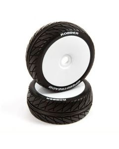 Duratrax DTXC2970 Speed Tread, ROBBER, Mounted Tire Buggy, 2pcs 1/8