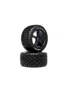 Duratrax DTXC5570 1/8 Thrush Truggy Tire C2 Mounted 0 Offset, 2pcs 1/8
