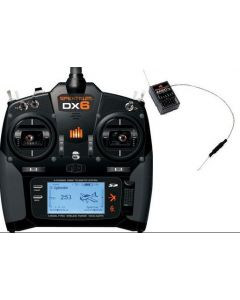 Spektrum SPM6755 DX6 Transmitter System w/ AR6600T Receiver, Mode 2