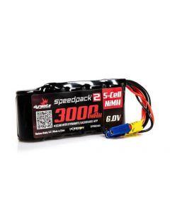 Dynamite DYNB2444 3000mAh 6.0V NiMH Receiver Battery