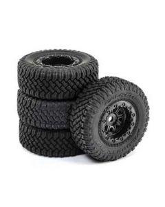 ECX 40008 Premount Tyre (4), 1/24 Barrage