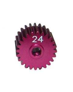 Great Vigor EL02411HC Motor Pinion Gear red 24T/3mm hold/Muscle