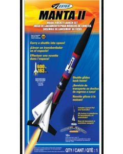 Estes 1425X Launch set E2X Manta II w/o Engines