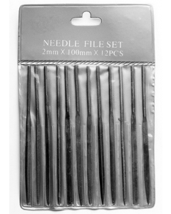 Excel 55608 4in Mini Files in Pouch 12pcs