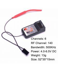 FlySky FS-R6B Receiver 2.4G 6CH Radio Model Remote Control Receiver for FlySky