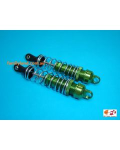 Great Vigor 34B102A05 FRONT GREEN SHOCK SET w/SILVER SPRING L=112.5mm