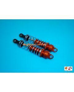 Great Vigor 34B102A06 FRONT ORANGE SHOCK SET w/SILVER SPRING L=112.5mm