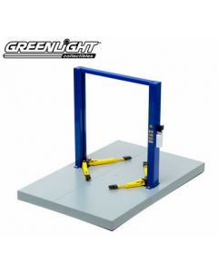 Greenlight 12915 Adjustable Two-Post Lift 1/18