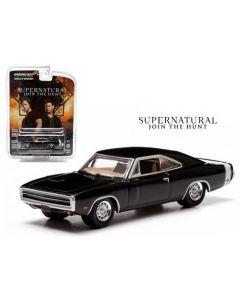 Greenlight 19046 Supernatural 1970 Dodge Charger Movie Artisan 1/18
