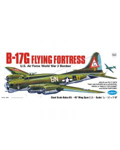 Guillow's 2002 B-17G Flying Fortress 1/28