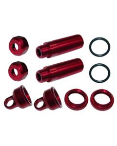 Great Vigor 33B530R Rear shock body set L=53x3.5mm - red