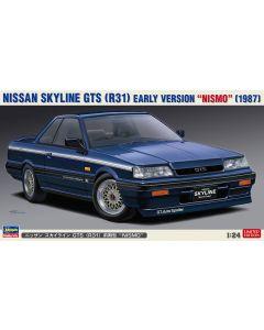 "Hasegawa H20378 Nissan Skyline GTS (R31) Early Version ""Nismo"" (1987) LIMITED EDITION 1/24"