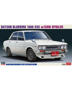 Hasegawa H20468 Datsun Bluebird 1600 SSS w/Chin Spoiler LIMITED EDITION 1/24