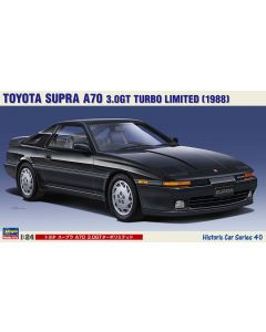 Hasegawa H21140 Toyota Supr A70 3.0GT Turbo Limited (1988) 1/24