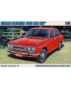 Hasegawa H21208 Nissan Bluebird 1600 SSS P510WTK (1969) 1/24