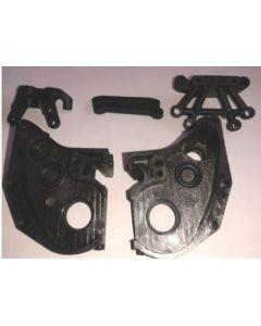 HBX 12005 Gear Case & Sus. Mount