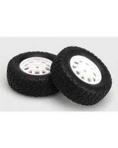 HBX 12754 Tire & Wheel Off-Road 12mm Hex (2pcs) 1/12