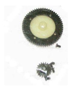 HBX  6578-T010A Spur Gear (Steel) & Motor Pinion Gear (Steel)