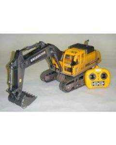 HOBBY ENGINES 0803  ECONOMY VERSION EXCAVATOR WITH 2.4GHZ RADIO, NIMH BATTERY & CHARGER