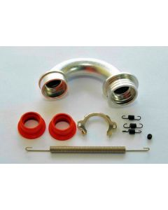 Hobao 86222 Pro Manifold w/plate & 4 springs(for .21 Engines)