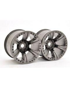 Hobao 94074 Hyper MT Plus - Wheel Monster Truck grey (2pcs) 1/8