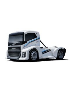 Hobao EPX 1/10 Semi Truck On-Road ARR, w/Pearl White Paint body (Requires all electronics)