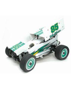 Hobao HYPER 8 SPRINT NITRO CAR RTR WHITE/GREEN 1/8