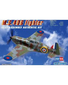 Hobby Boss 80235 French M.S.406 Fighter 1/72