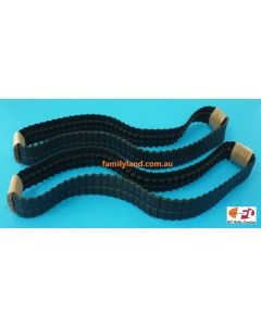 Hobby Engine Track replaces for Abram, Leopard 1/16Tank 2pcs