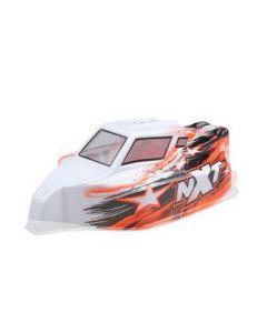 Hobby Tech CA284 Spirit NXT GP painted body orange/white 1/10