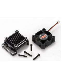 Hobbywing 30850006 XR10 Pro optional case with fan Black
