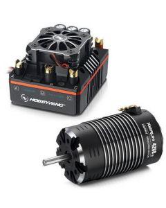 Hobbywing 38020405 Xerun Brushless Combo XR8 plus-4268SD 1900KV - Black -G2