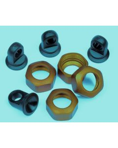 HPI 101161 Shock Caps (Discontinued, replacement part: #101752)