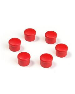 Hudy 195058-R Cap for 18mm Handle - Red (6)