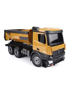 HUINA 1573 RC Dump Truck w/Sound 2.4G 10CH  1/14