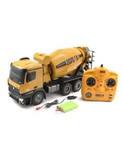 Huina 1574  2.4G 10CH RC Cement Truck 1:14