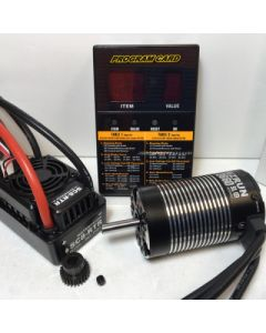 Hobbywing AP120BL4000 B/less Combo WPESC 120AMP , 3660 Sensorless BL 4000kV Motor