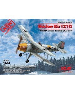 ICM 32030 Bucker Bu 1331D WWII German Training Aircraft 1/32