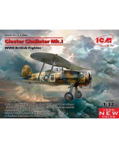 ICM 32040 Gloster Gladiator Mk.I WWII British Fighter 1/32