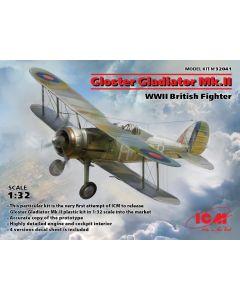 ICM 32041 Gloster Gladiator Mk.II WWII British Fighter 1/32